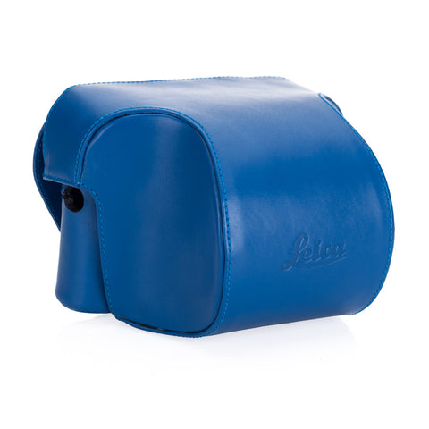 Leica Ever ready case Box calf leather blue