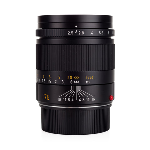 Used Leica Summarit-M 75mm f/2.5 - Recent Leica CLA