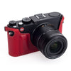 Arte di Mano Half Case for Leica X (Typ 107 & 113) - Rally Bordo