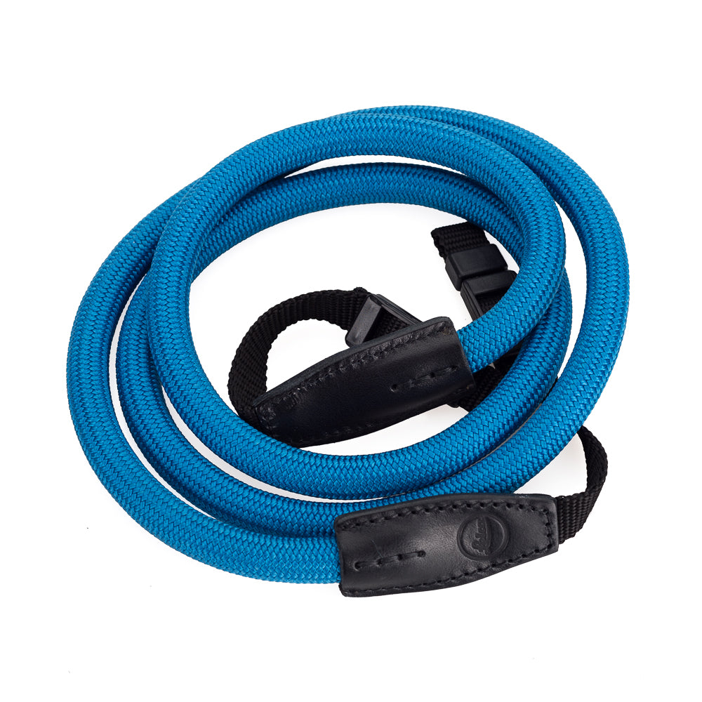 Leica Rope Strap by Cooph, Blue, 126cm, Nylon-Loop Style