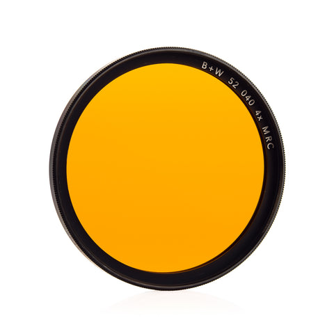 B+W 52mm Yellow-Orange (040) MRC Filter
