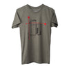 Leica M10 Bauhaus T-Shirt, Heather Lieutenant, Mens, Small