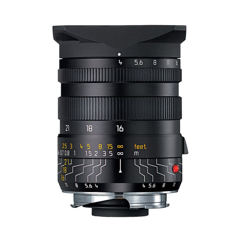 Leica Wide-Angle-Tri-Elmar-M 16-18-21mm f/4.0 ASPH with Universal Wide Angle Finder