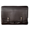 Oberwerth William Large Leather Camera/Business Bag, Dark Brown