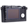 Leica X Vario Camera Protector, Black Leather