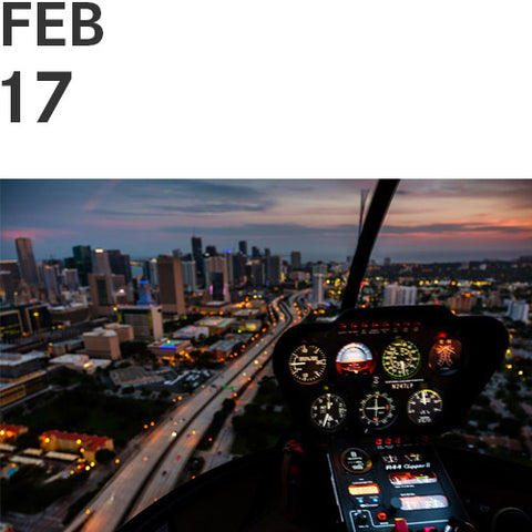 OVER MIAMI: Aerial Photography Workshop | Sat, Feb 17, 2018 | 3:00 pm - 7:00 pm