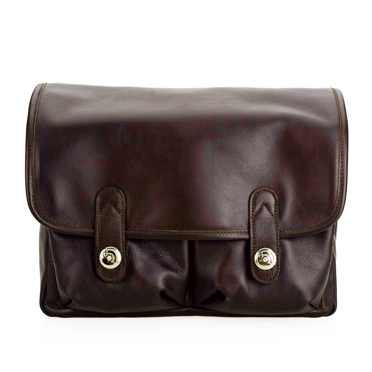 Oberwerth Boulevard Tablet - Leather Camera Bag, Brown