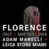Florence, Italy with Adam Marelli - May 12-17, 2014