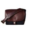 Oberwerth Frankfurt Small Photo Bag - Cordura/Leather - Black/Dark Brown