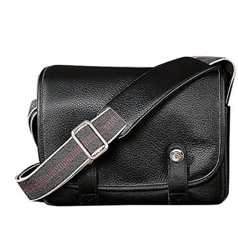 Oberwerth Harry & Sally Medium Leather Camera Bag, Black
