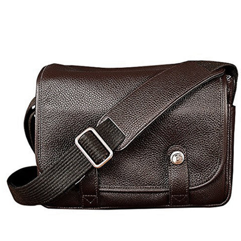 Oberwerth Harry & Sally Medium Leather Camera Bag, Espresso