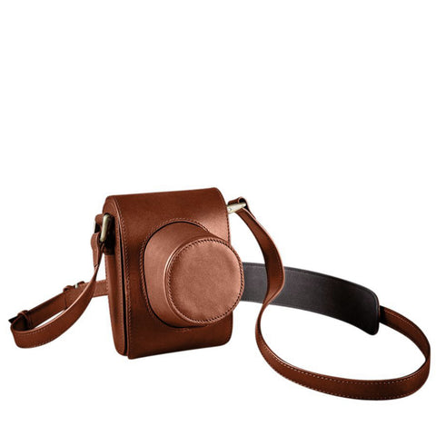 Oberwerth Crossbody Holster for Leica M & Q, Light Brown