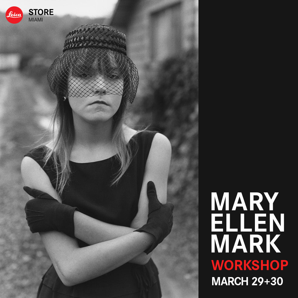 Mary Ellen Mark Weekend Workshop - Sat & Sun, Mar 29-30, 2014