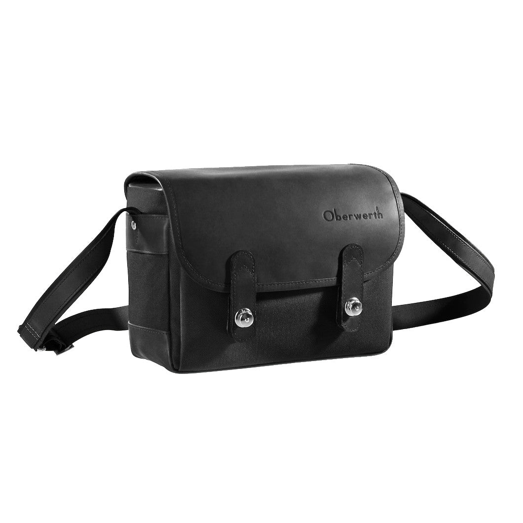 Oberwerth Freiburg Medium Photo Bag - Cordura/Leather - Black/Black