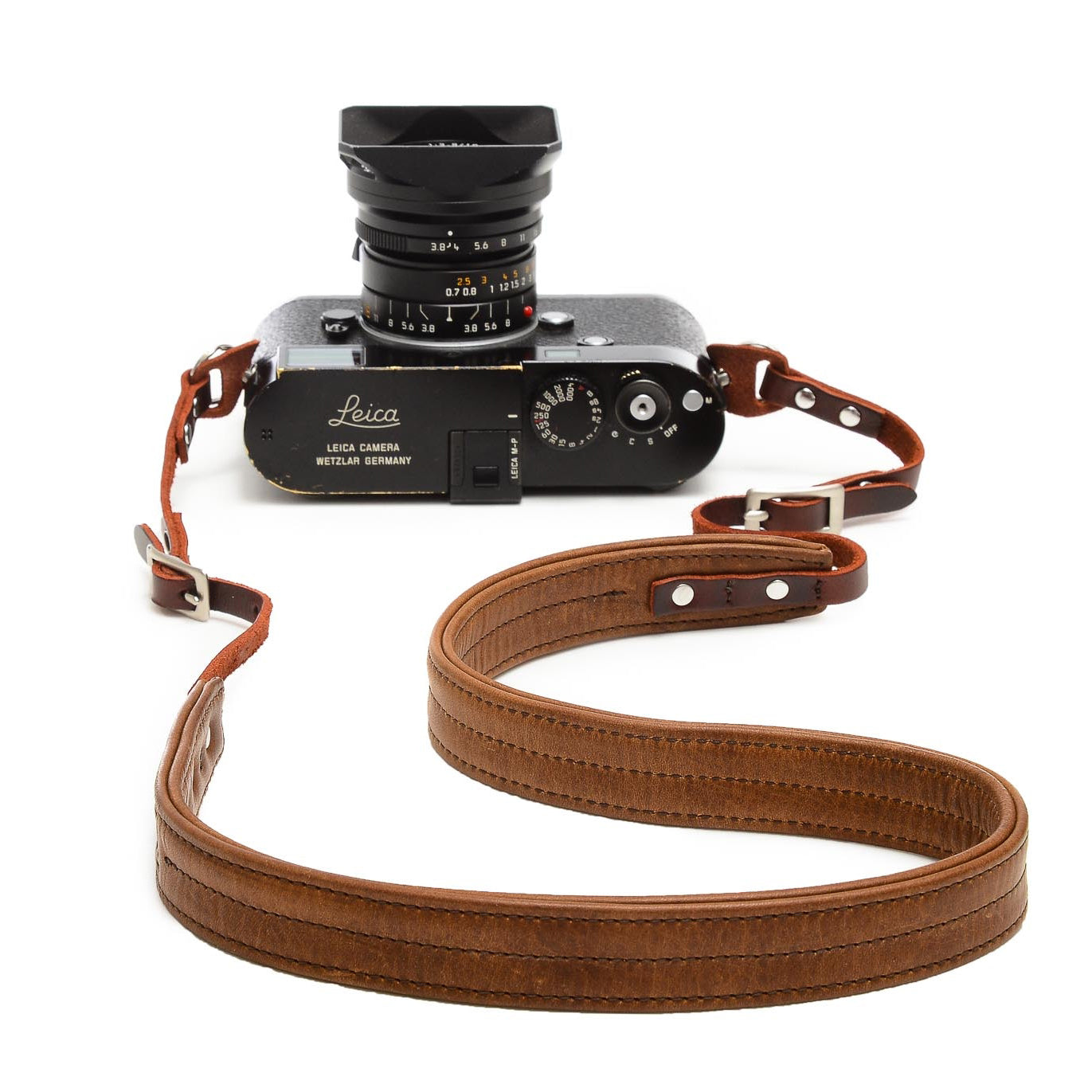 ONA - The Oslo Leather Camera Strap, Antique Cognac