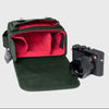 Oberwerth Leica Q2 Leather Photo Bag - Pine Tree Green, Limited Edition