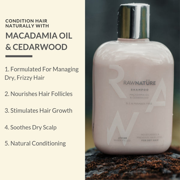 Macadamia Oil & Cedarwood Hair Shampoo