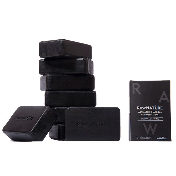 ACTIVATED CHARCOAL SOAPS SET OF 3