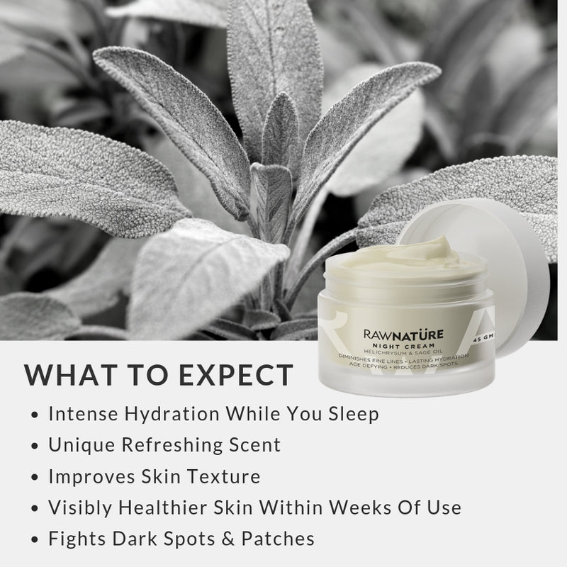 Helichrysum & Sage Oil Night Cream (45 Gm)