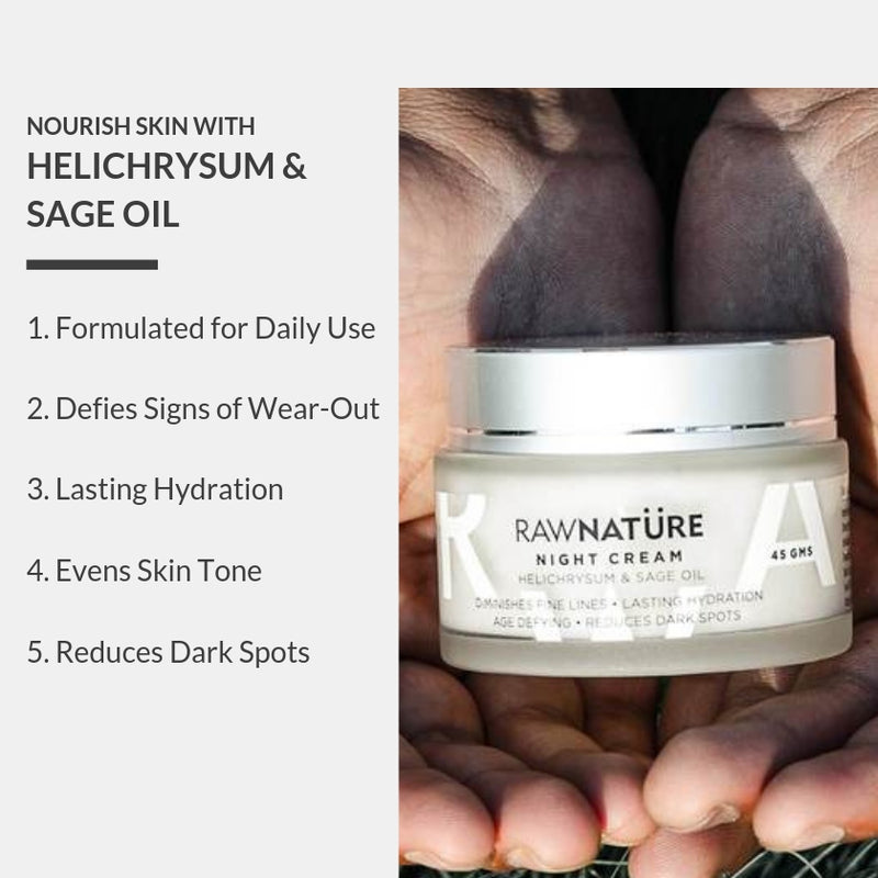 Helichrysum & Sage Oil Night Cream (Best Before Nov 2020)