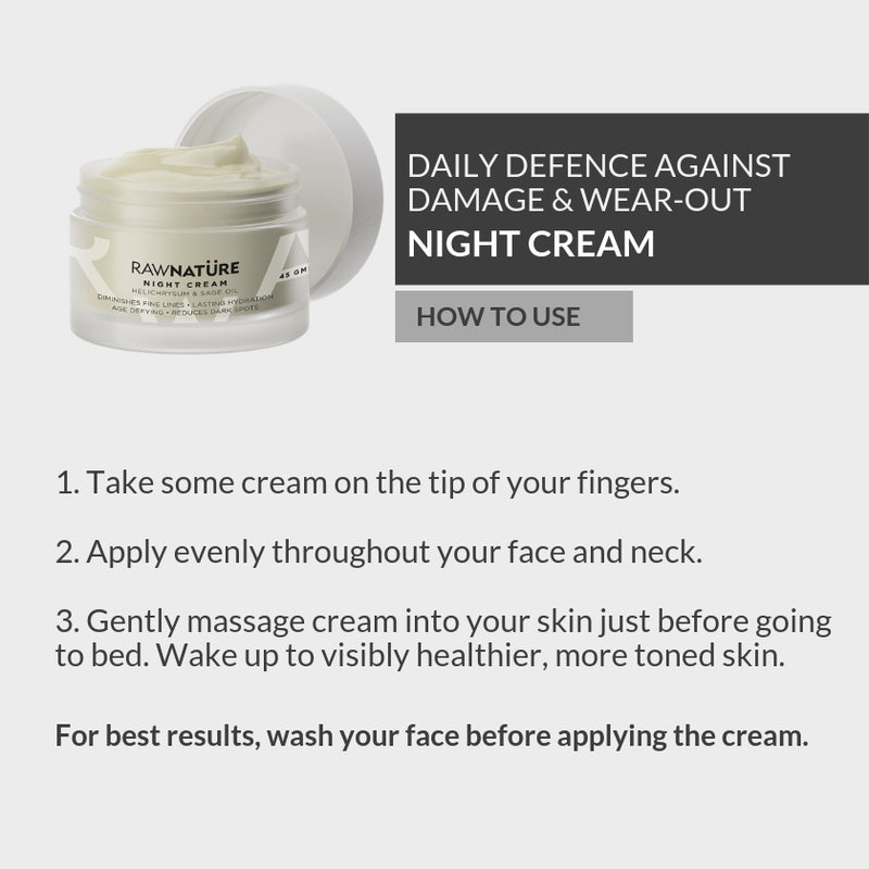 Helichrysum & Sage Oil Night Cream