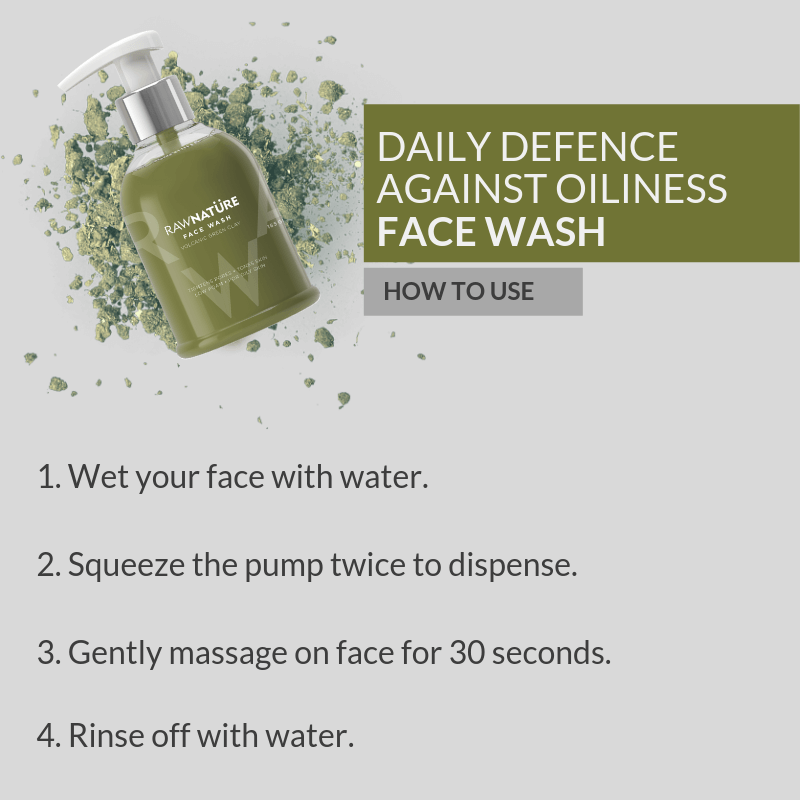Volcanic Green Clay Face Wash