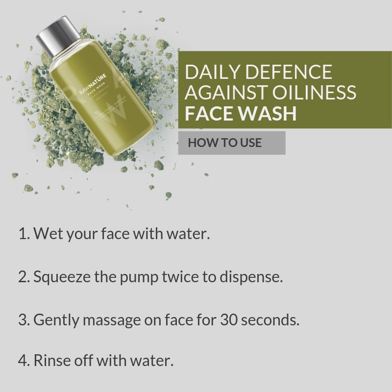Volcanic Green Clay (60 Gm) Face Wash