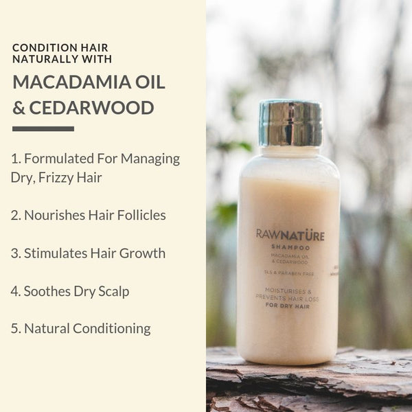 Macadamia Oil & Cedarwood Hair Shampoo (210 Gm)