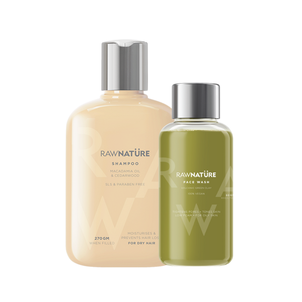 Buy Macadamia Oil & Cedarwood Hair Shampoo Get Face Wash Green Clay Worth Rs. 349 FREE