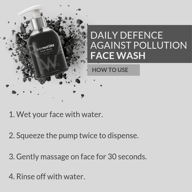 Activated Charcoal & Quinoa Face Wash