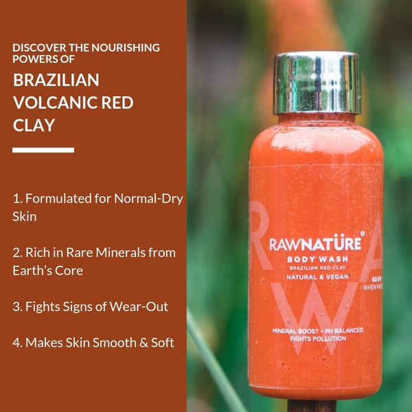 Brazilian Red Clay (60 Gm) Body Wash