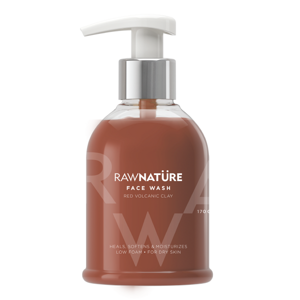 Volcanic Red Clay Face Wash