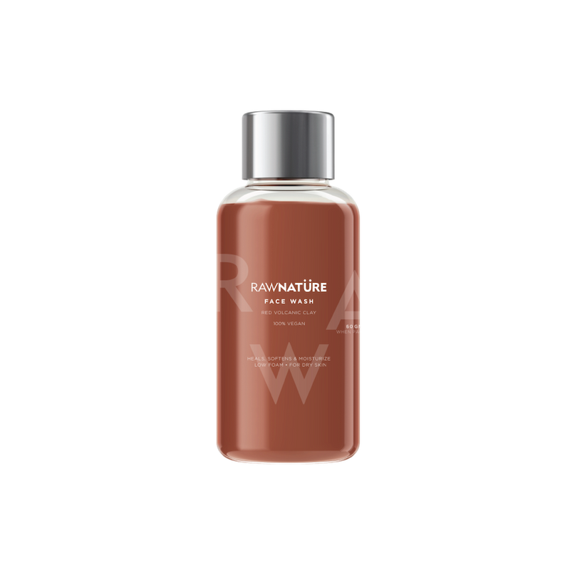 Volcanic Red Clay (60 Gm) Face Wash