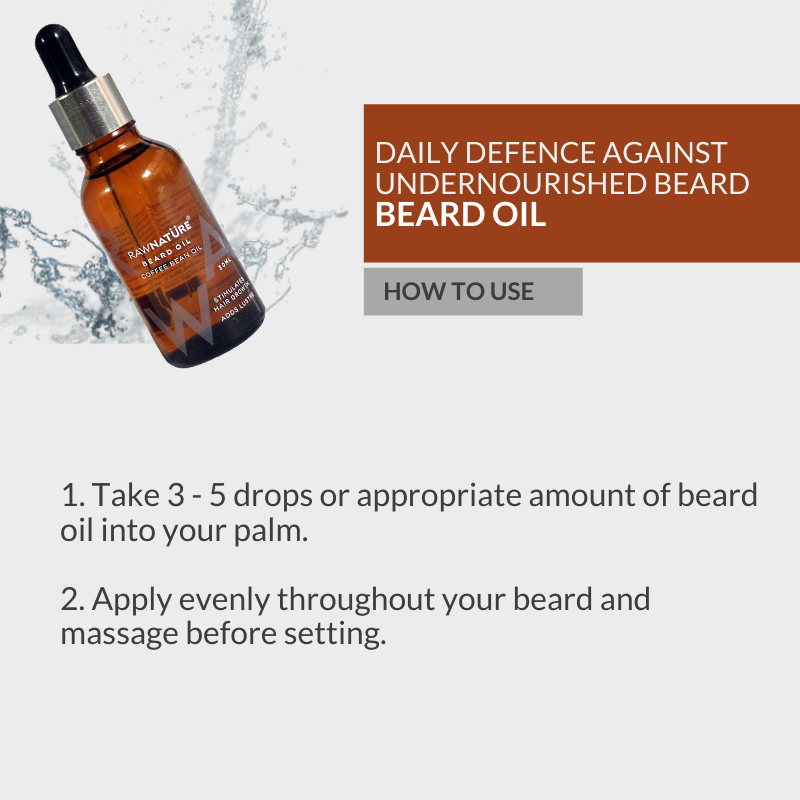 Coffee Bean Beard Oil (30 Ml)