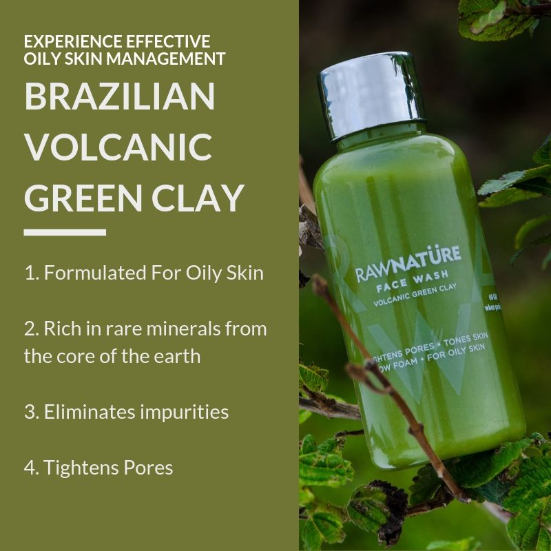 Volcanic Green Clay Face Wash (100 Gm)