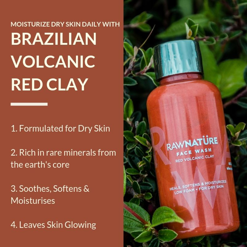 Volcanic Red Clay Face Wash (100 Gm)