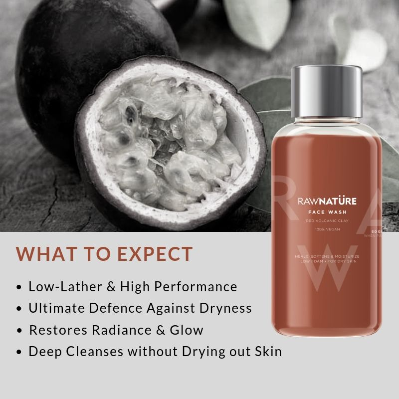 Volcanic Red Clay (100 Gm) Face Wash