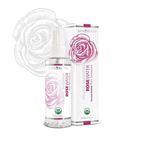 Organic Rose Water Spray 100ml - 100% USDA Certified