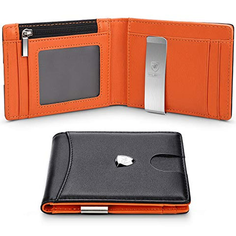Mens RFID Minimalist Mini Wallet