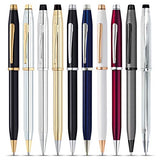 23K Gold Plated CROSS Century II Medalist – Ballpoint Pen in Chrome