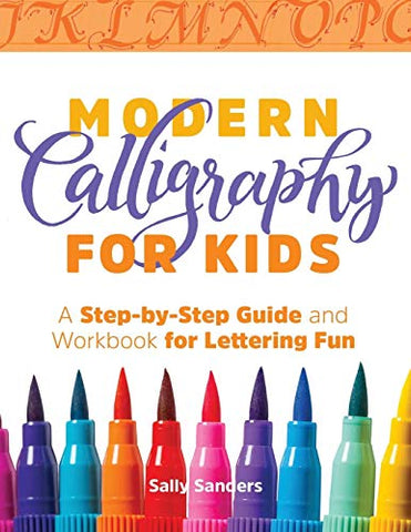 Learn Calligraphy: Guide and WorkBook (pens not included)