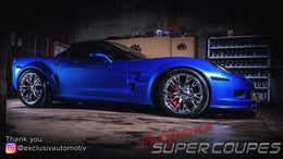 Exclusiv automotiv | Levis QC Canada | Chevrolet Corvette C6 Super Widebody Conversion
