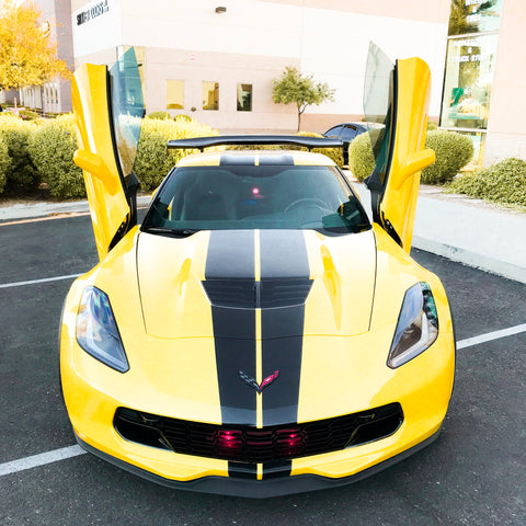 Thank you for the images @azmotortrendz   Check out this Chevrolet Corvette C7 Z06 done at AZ Motor Trendz in Peoria, AZ with Vertical Doors, Inc. Vertical Door Conversion Kit and many more upgrades.