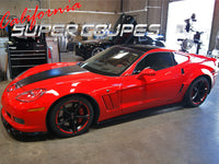 Rear Quarters ZLR Wide ZR1 Style for Chevrolet Corvette C6 Coupe by CSC
