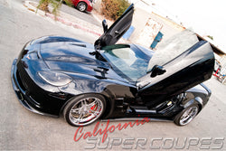 Chevrolet Corvette C6 Front Splitter + Side Skirts Z06, ZR1, Grand Sport, and Wide Body