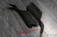 Quarter Panel Bottom Vents Carbon Fiber Chevrolet Corvette C7 2014-2019 By CSC