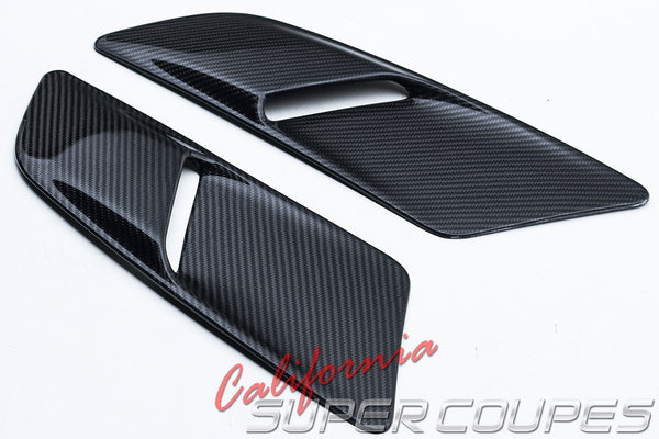 Carbon Fiber GT Hood Scoops Ford Mustang 2015-2017