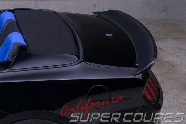 Carbon Fiber GT Rear Spoiler Convertible Ford Mustang 2015-2017