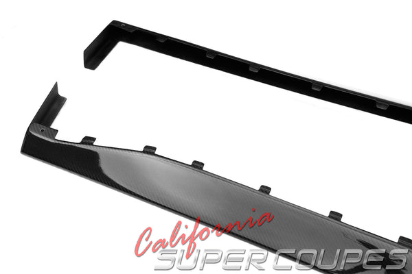 Carbon Fiber GT Side Skirt Ford Mustang 2015-2017
