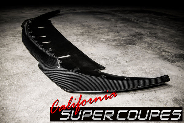 "GT350 ""R"" Front Splitter Carbon Fiber Ford Mustang Shelby 2015-2018"